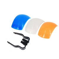 AccPro 3 Color Pop-Up Flash Diffuser  [LS-20]